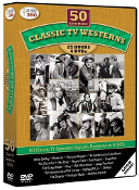 CLASSIC TV'S WESTERN FAVORITES (50 shows on 6 DVDs)
