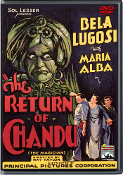 THE RETURN OF CHANDU - 12 Chapters - 1934