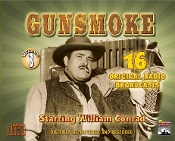 Gunsmoke Radio Classics - Vol. 3 CD Set
