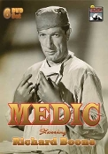 Medic - starring Richard Boone - rare classic TV shows on DVD