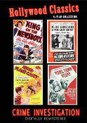 CRIME INVESTIGATION - FOUR FILM COLLECTION